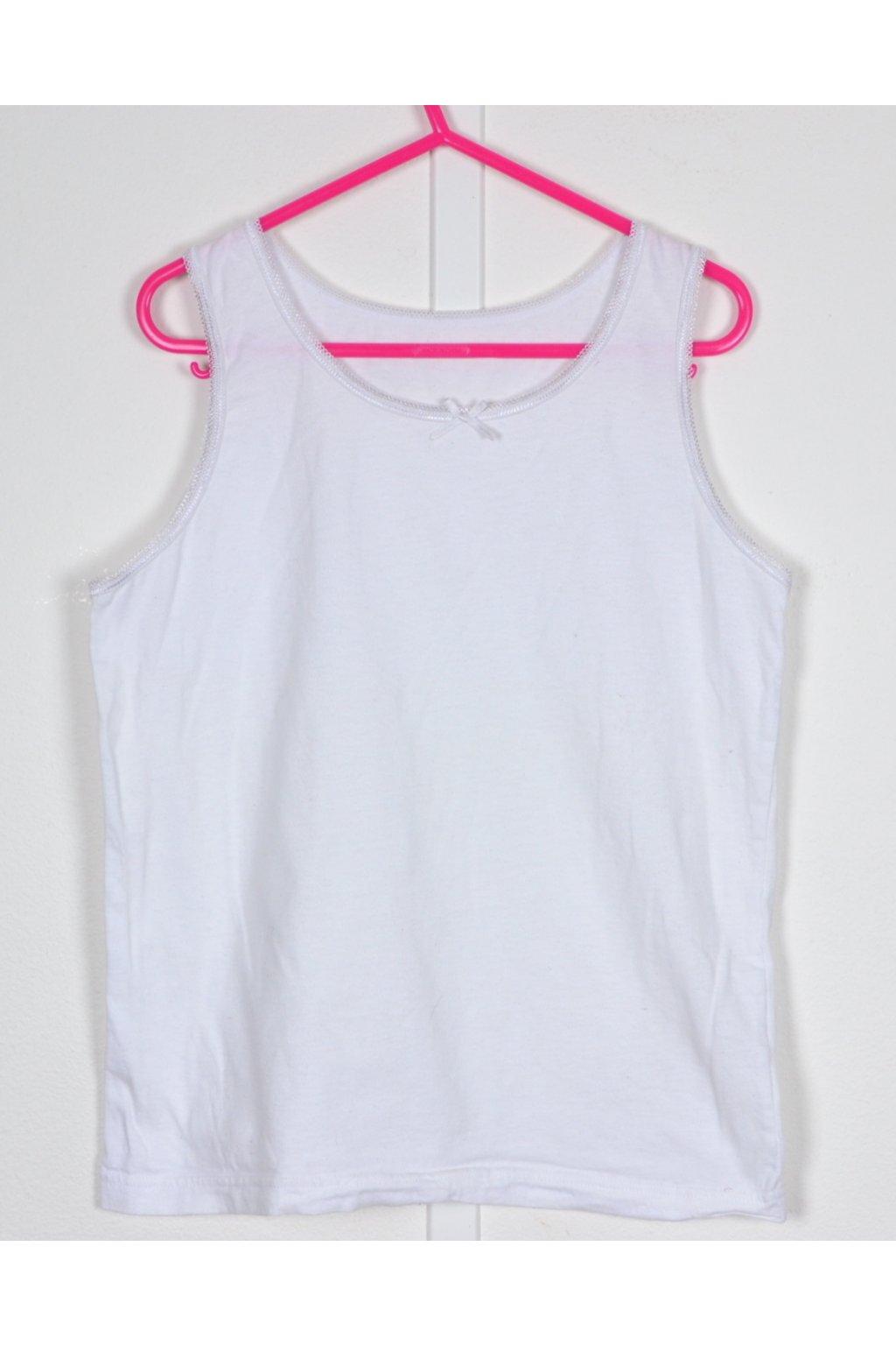Košilka spodní prádlo George vel 140-146 bílá