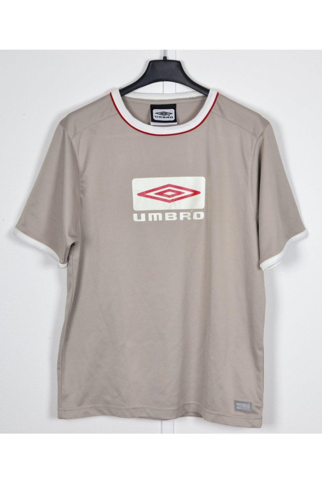 Tričko sportovní Umbro vel 170-176 béžová