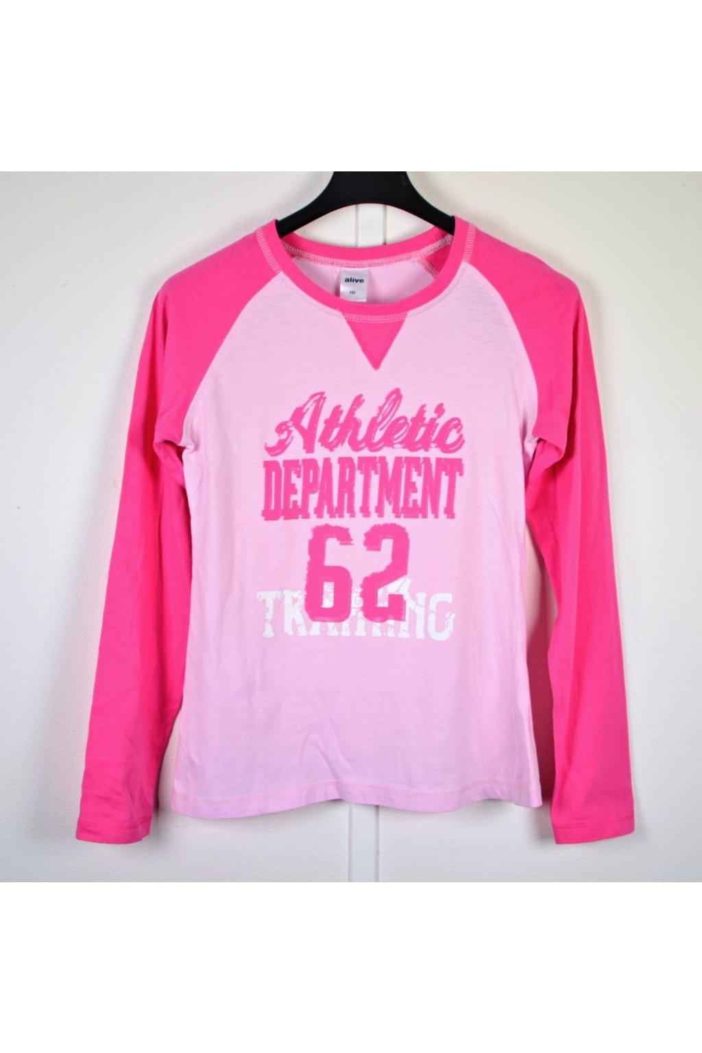 Tričko Alive vel 152 růžové