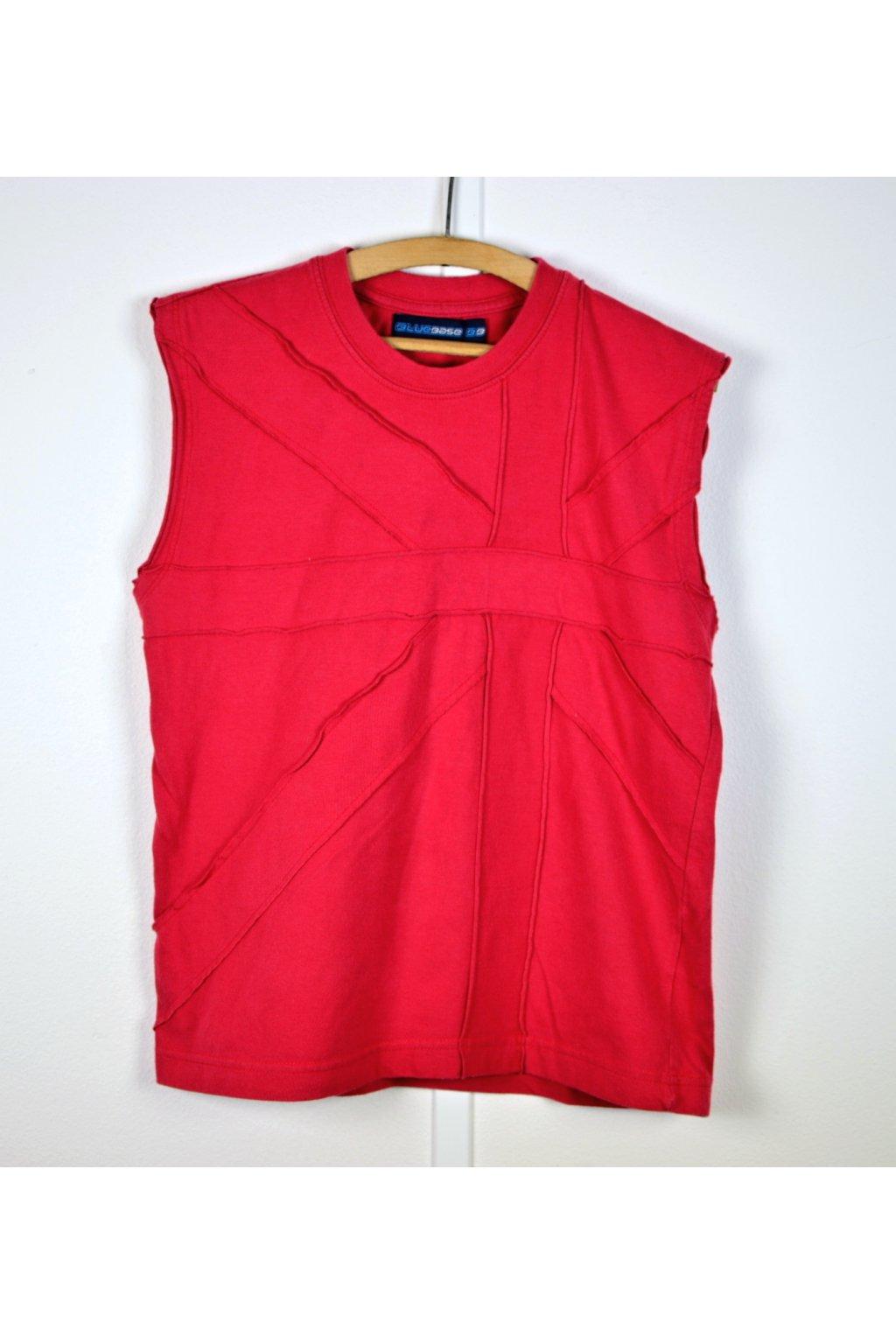Tričko Bluebase vel 8-9/134 červené