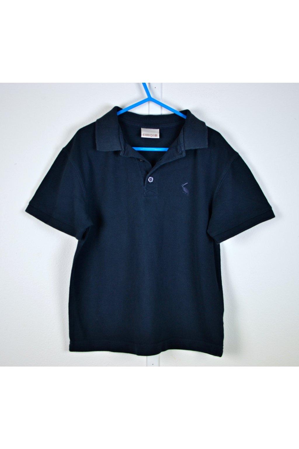 Tričko Cherokee vel 116 s límečkem modré