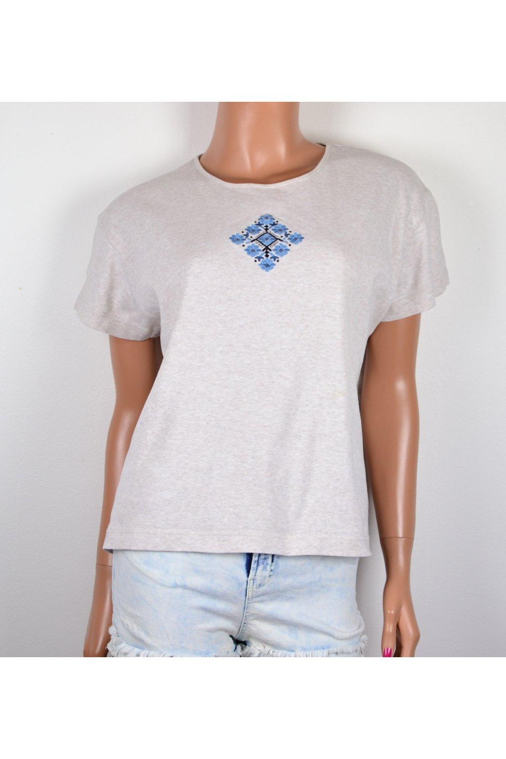 Tričko béžové Eastex XL