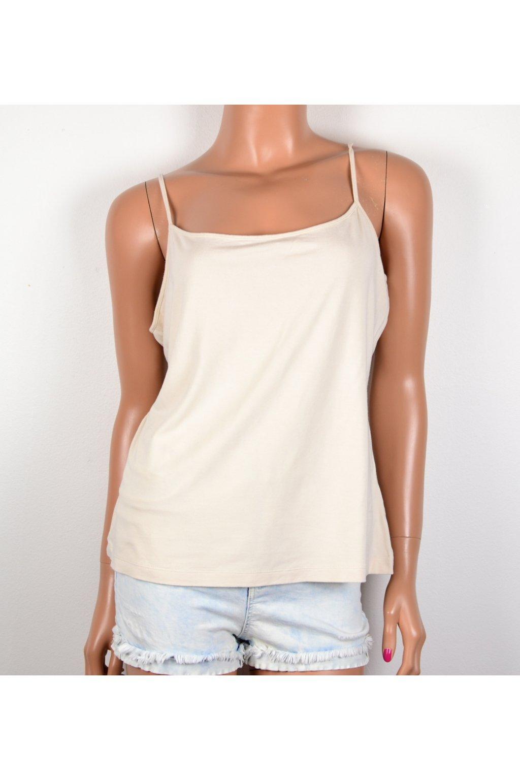 Tričko tílko béžové Marks a Spencer UK18/46-48/L-XL