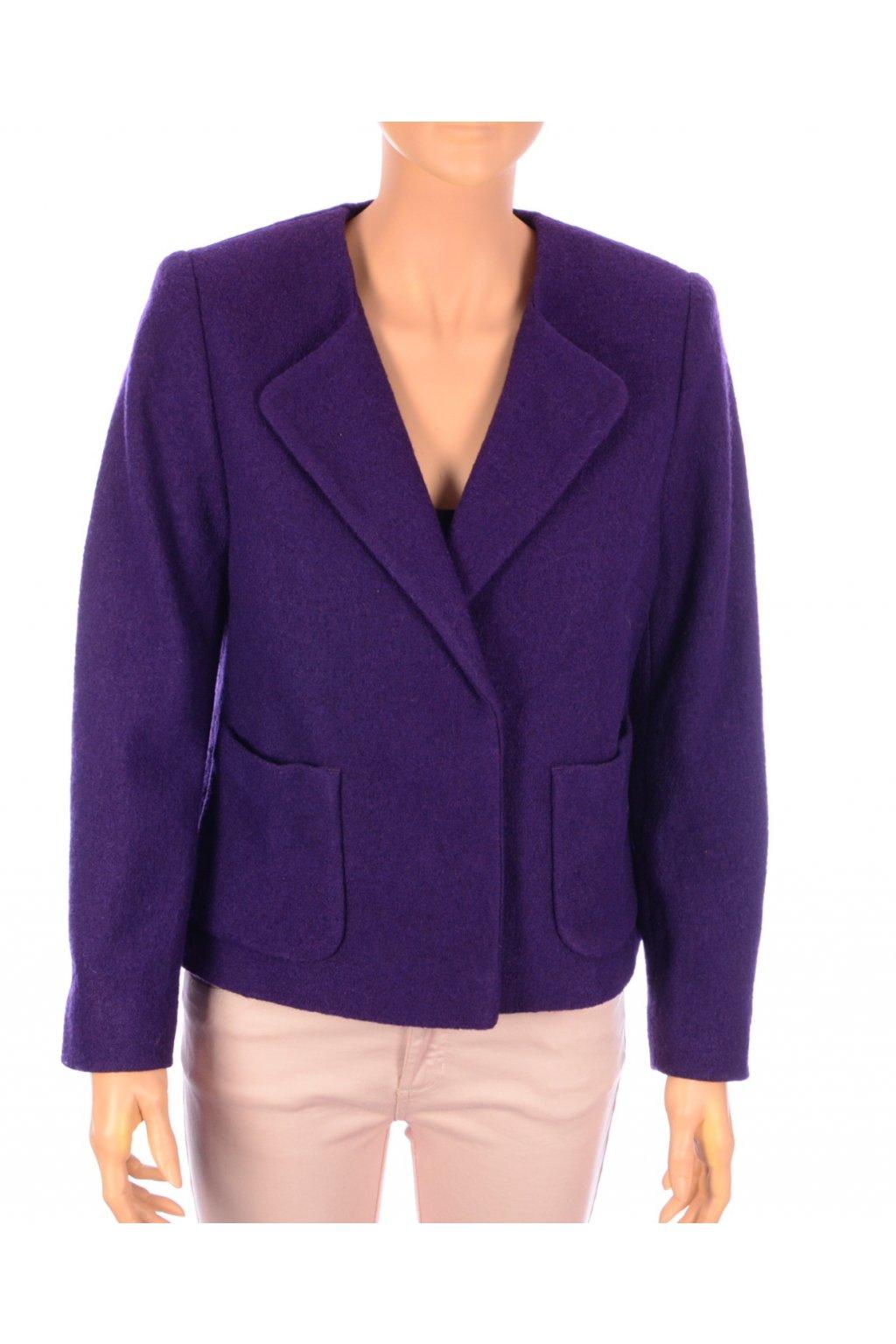 Kabát krátký Eastex vel.S fialový