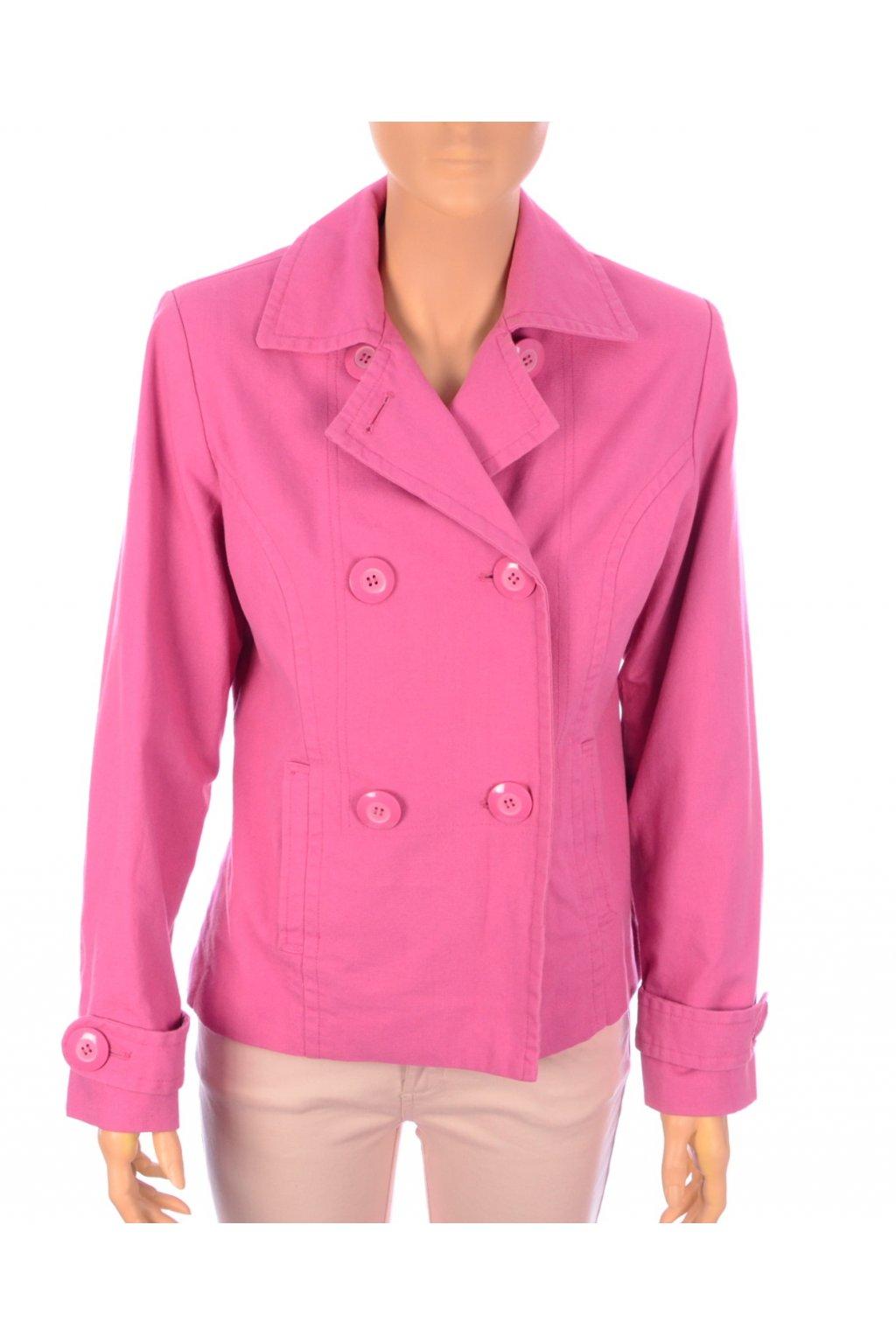 Kabát krátký LaVie vel. M růžový