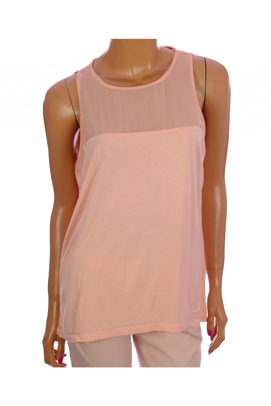 Tričko Adidas světle růžové vel. L