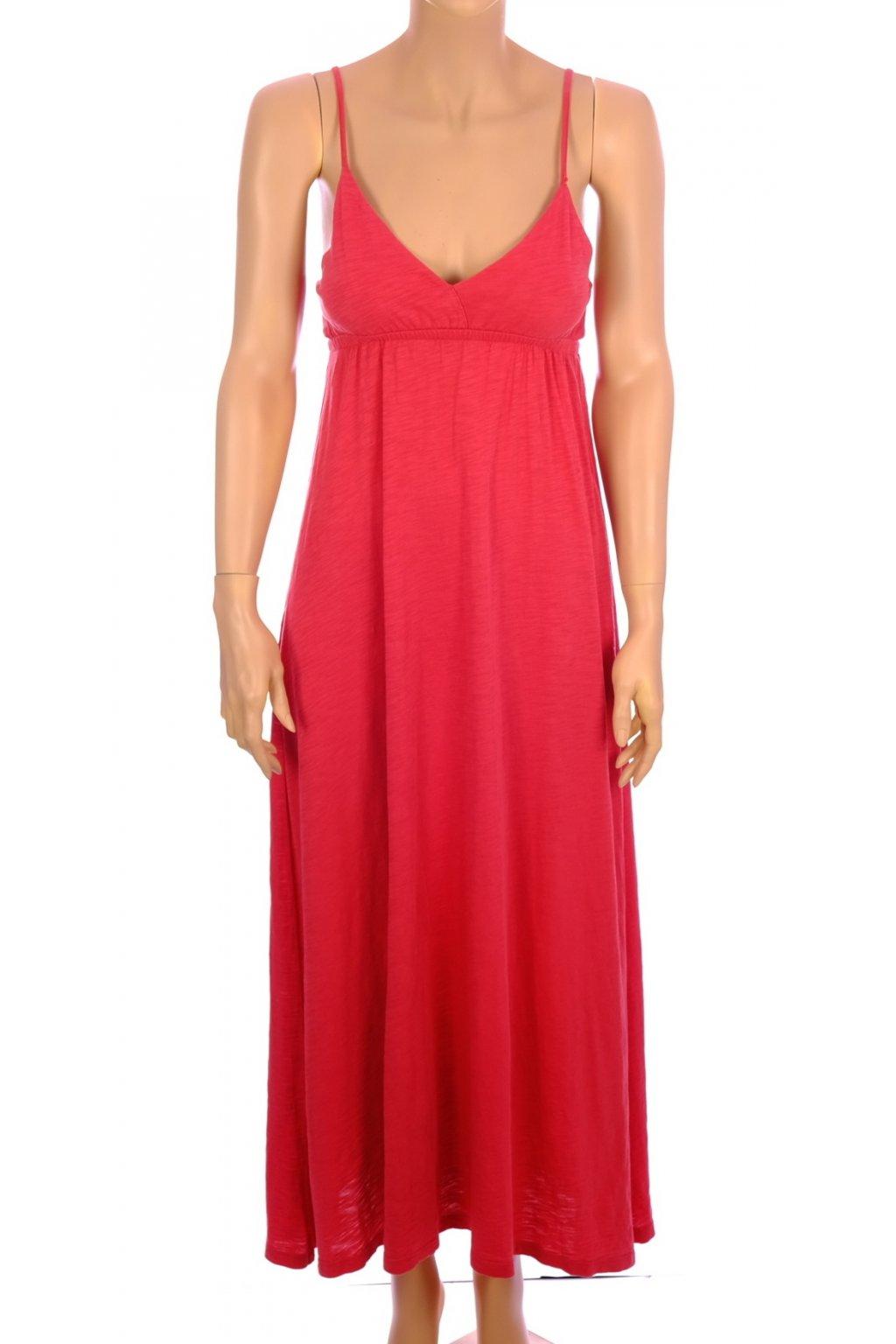 Šaty My Own červené dlouhé vel. XS