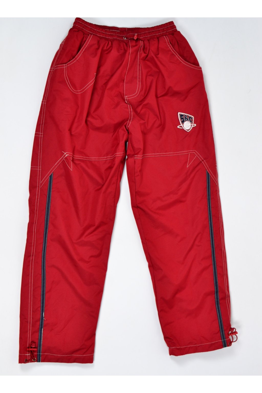 Kalhoty zateplené Sport Wear 152/11-12 červené