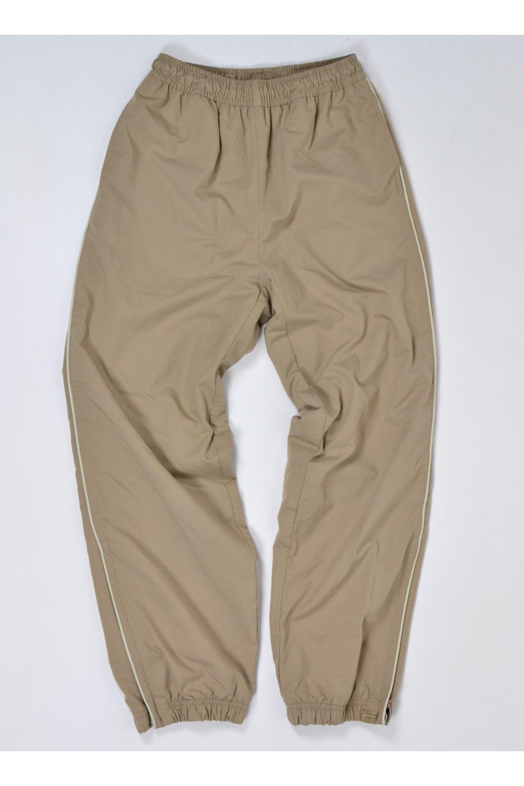 kalhoty béžové s podšívkou decathlon 152