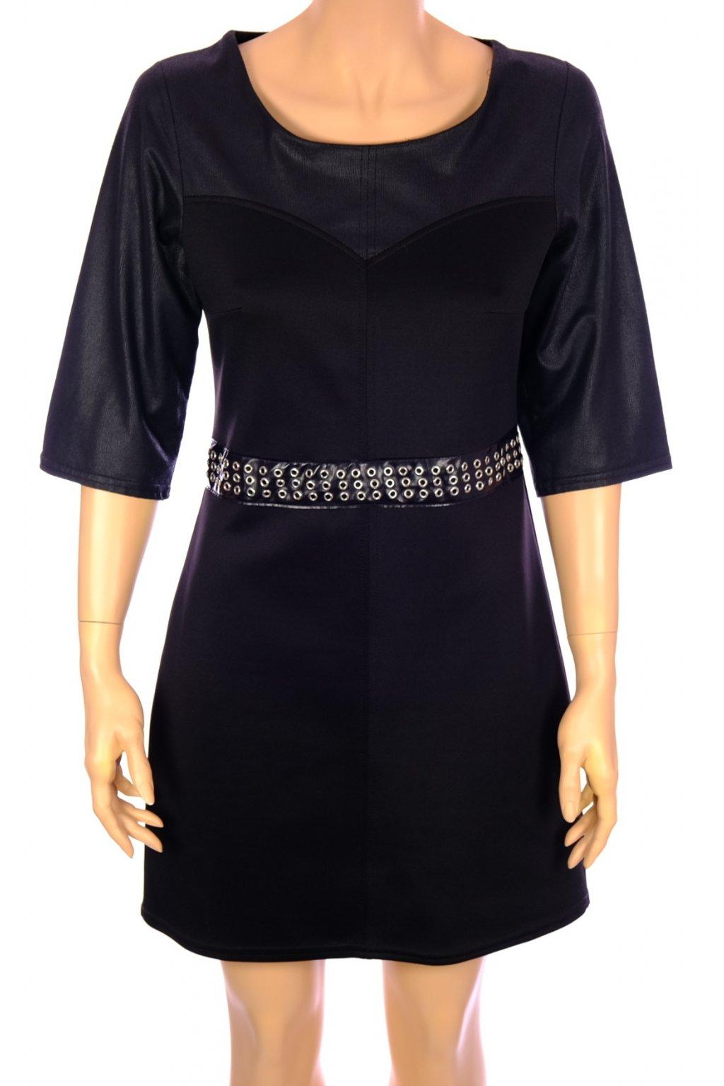 Šaty Quinze heures vel M černé