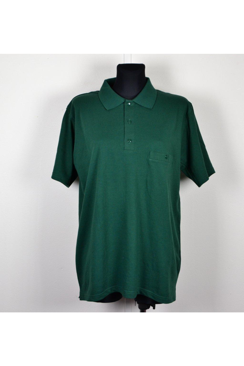polotričko zelené s límečkem L