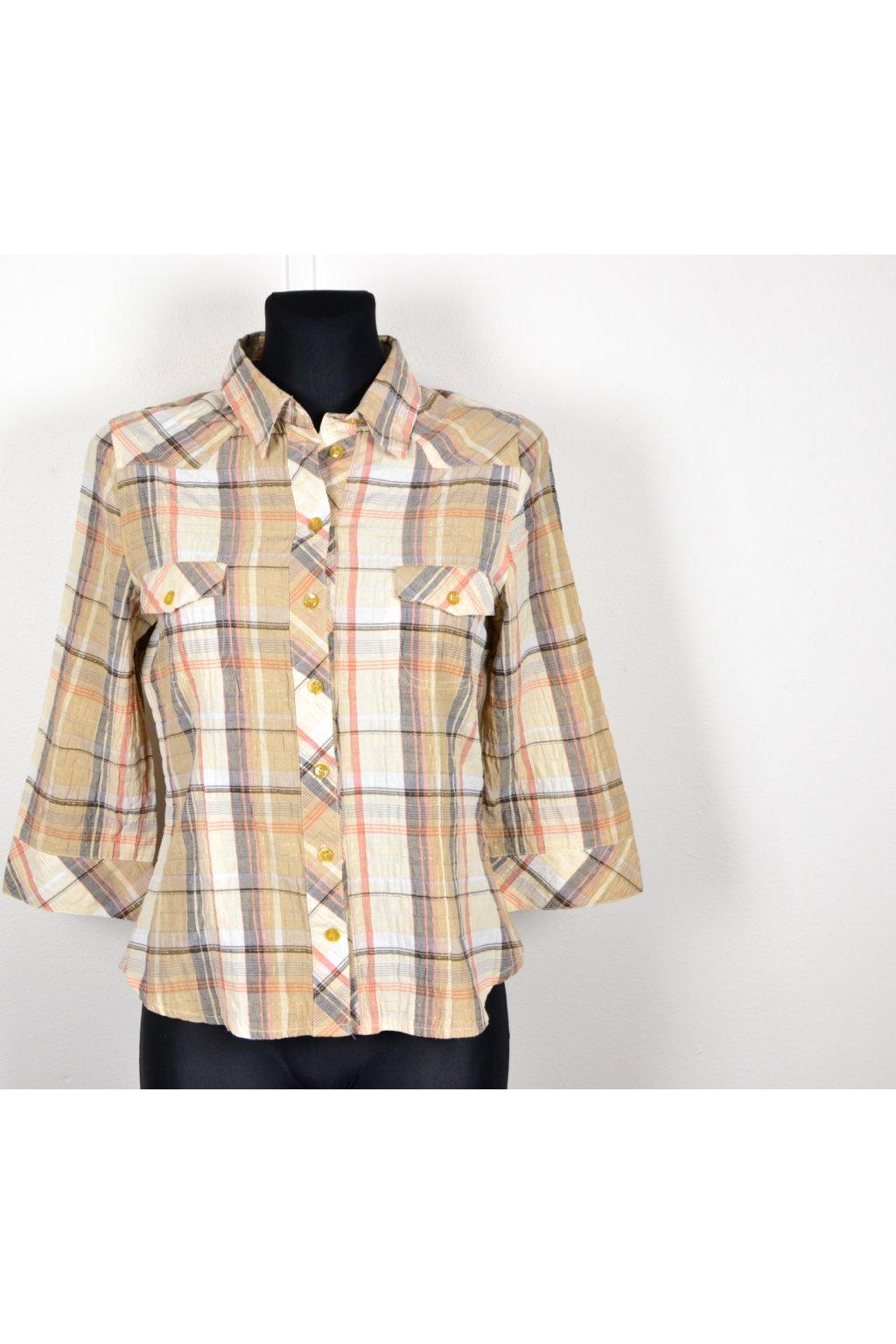 košile halenka karo c&a 36 / S