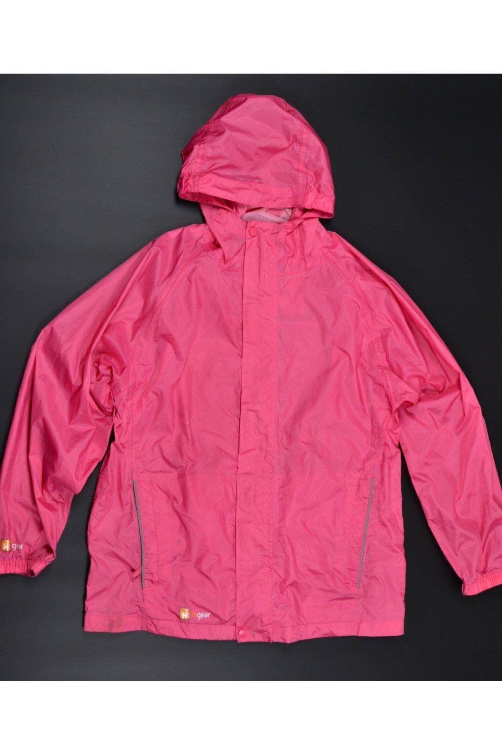 Bunda větrovka pláštěnka Higear 11-12/152 růžová