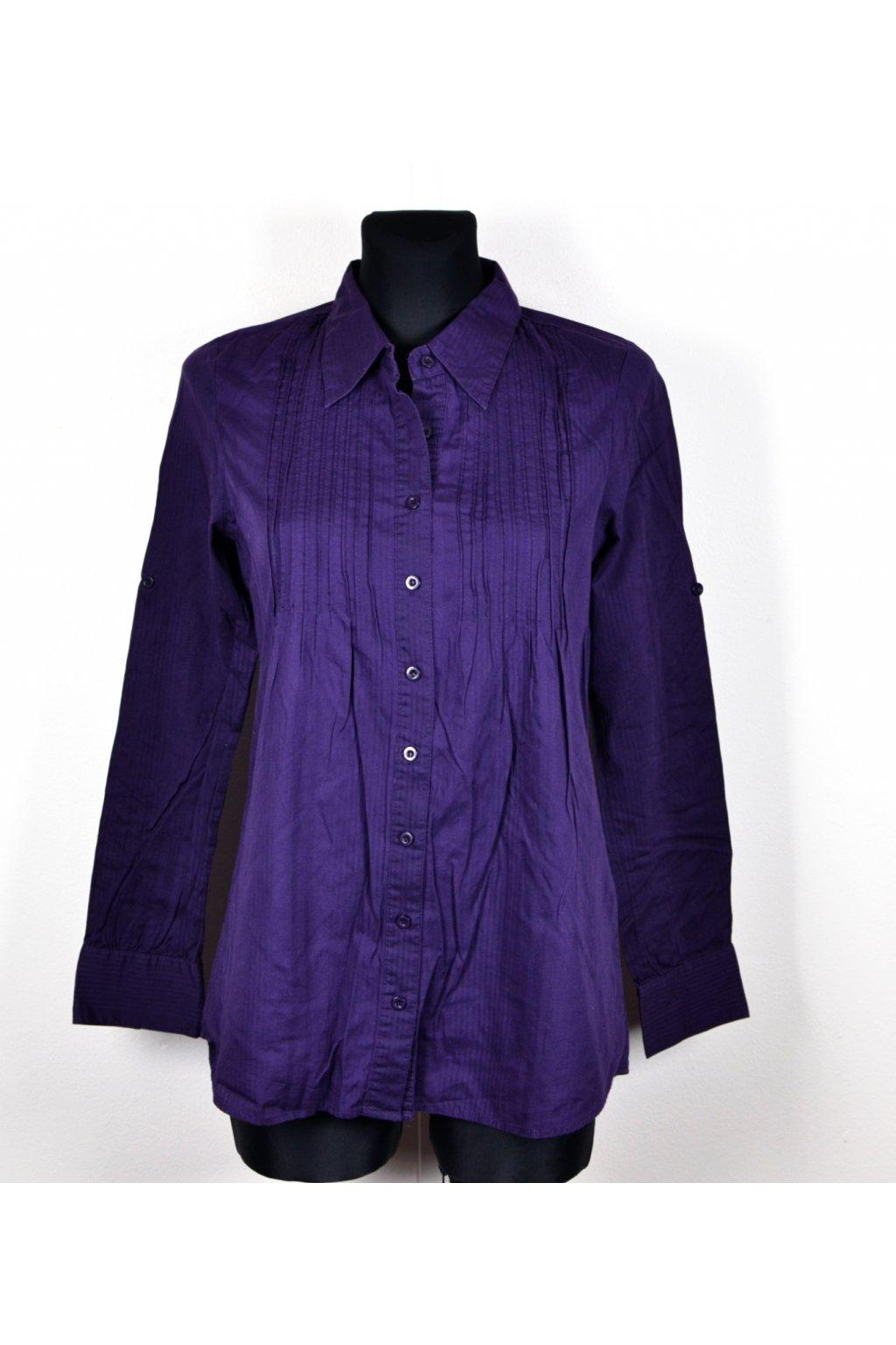 Košile Amisu fialová vel. M