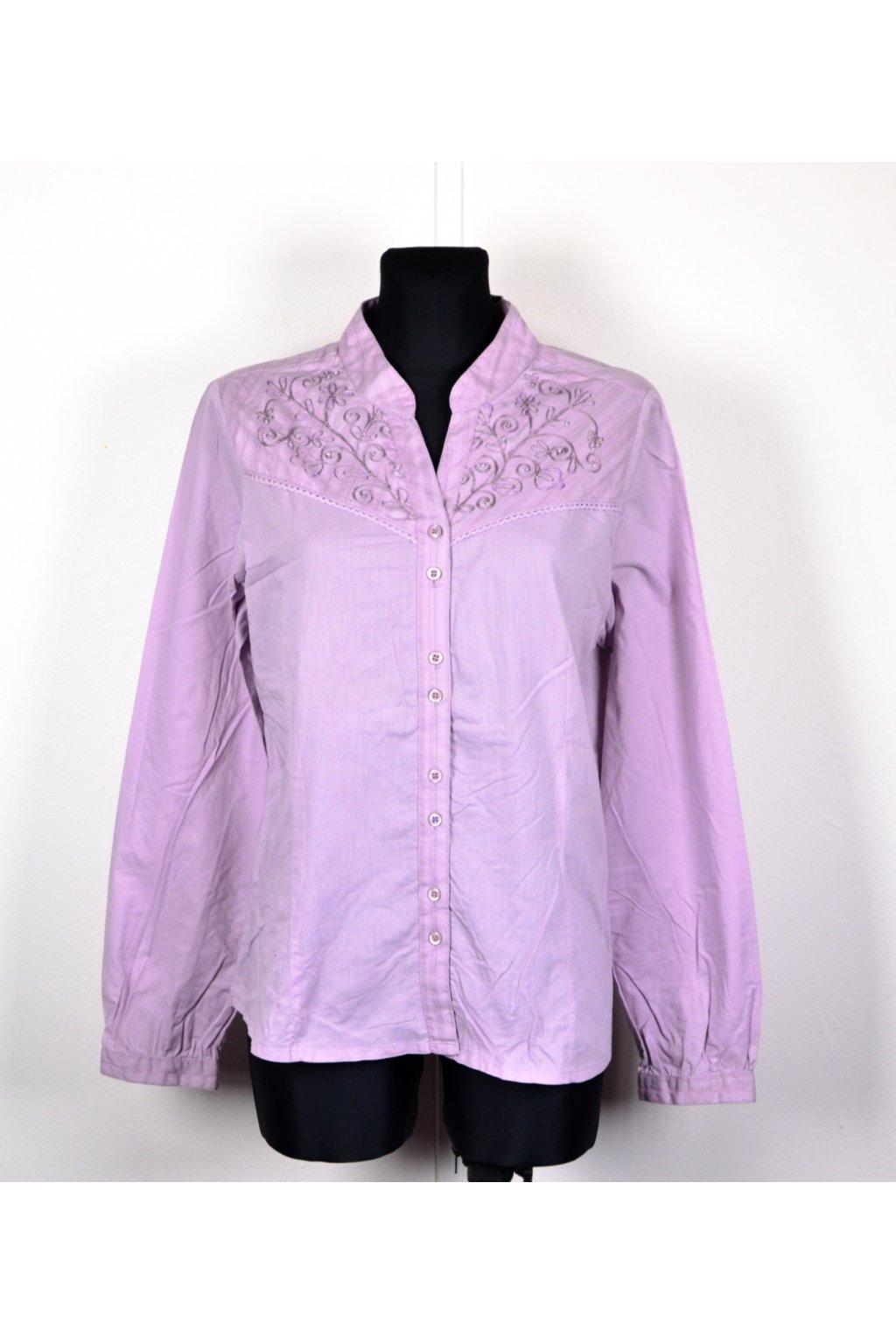 Halenka Košile fialová lila Woman&Soul vel. 44 / L