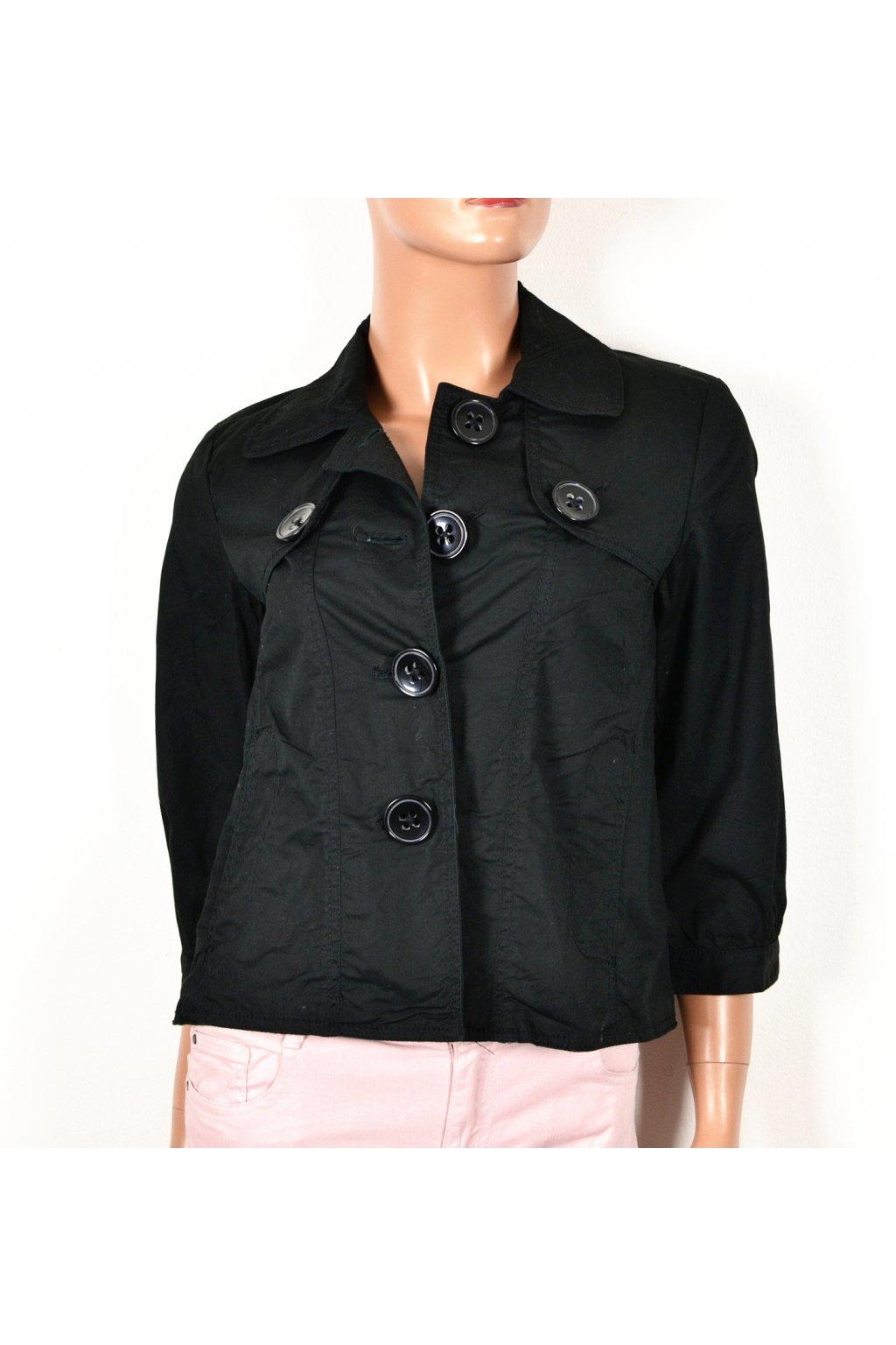 Kabát kabátek jarní Bossini Ladies vel S/M černý