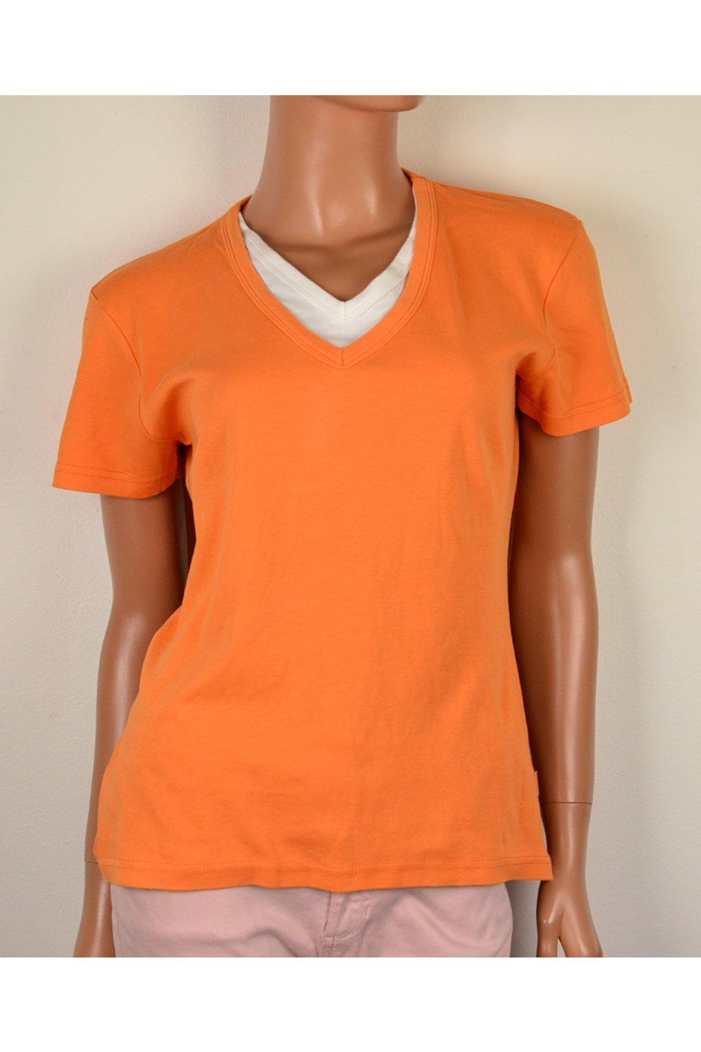 Tričko oranžové Street One vel. M / 42