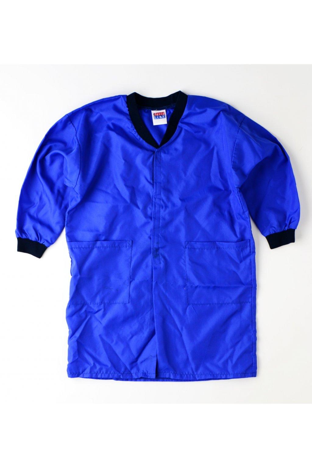 Bunda pracovní plášt DAVID LUKE modrá 128
