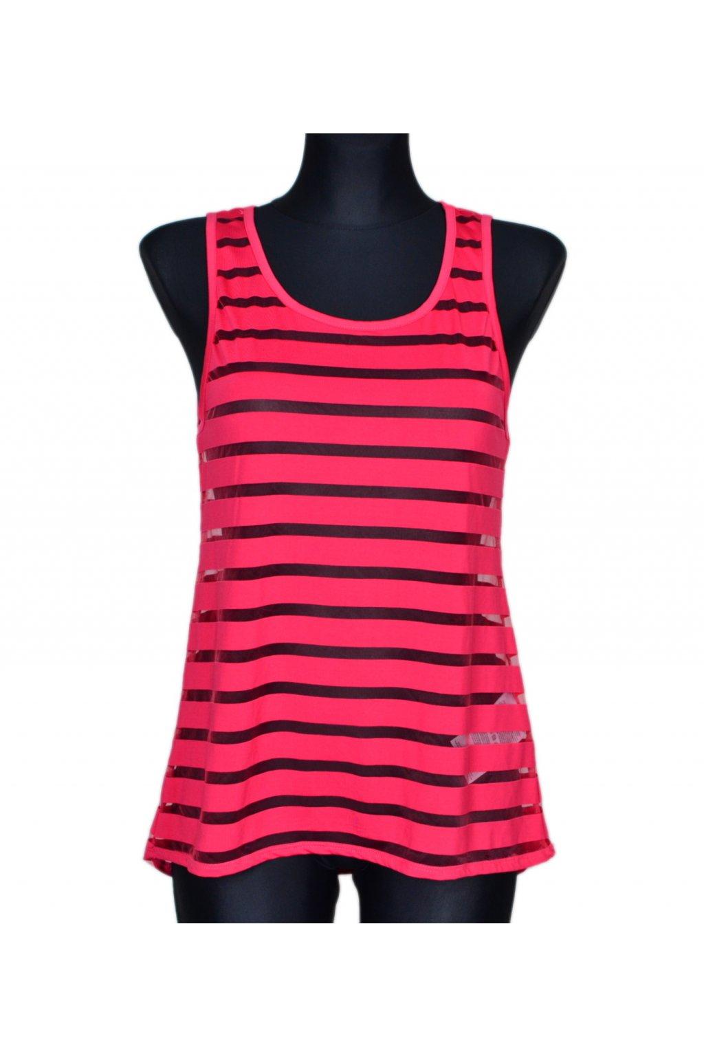 Tričko tílko top Amisu vel S růžový
