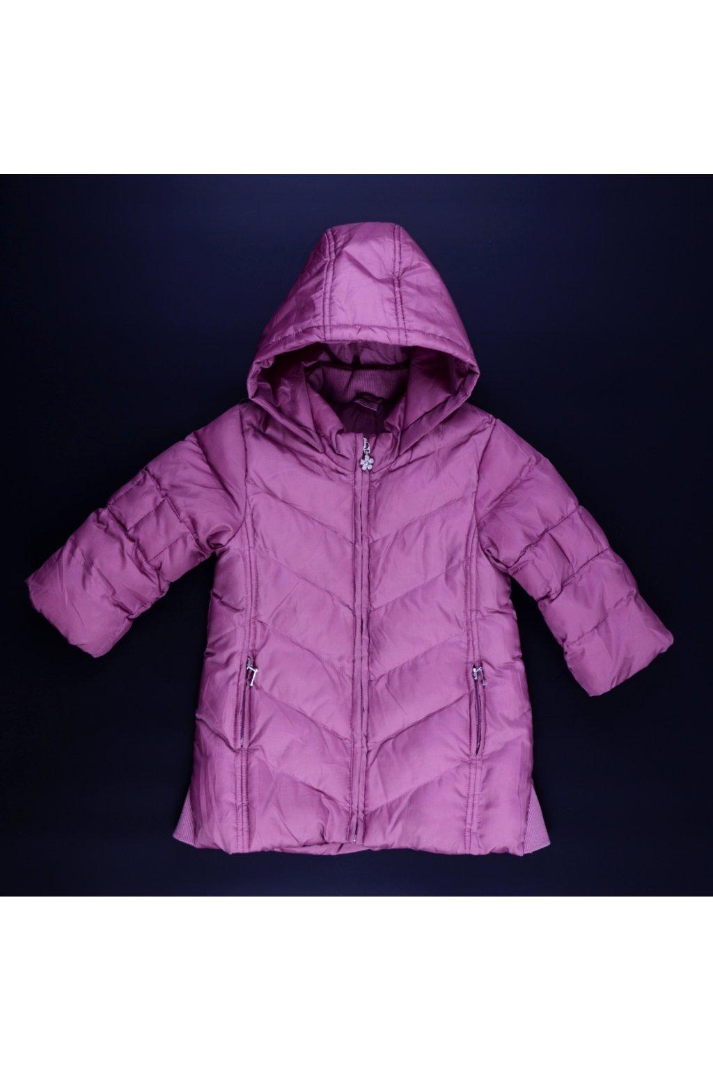Bunda kabát Marks&Spencer 12-18/86 růžová