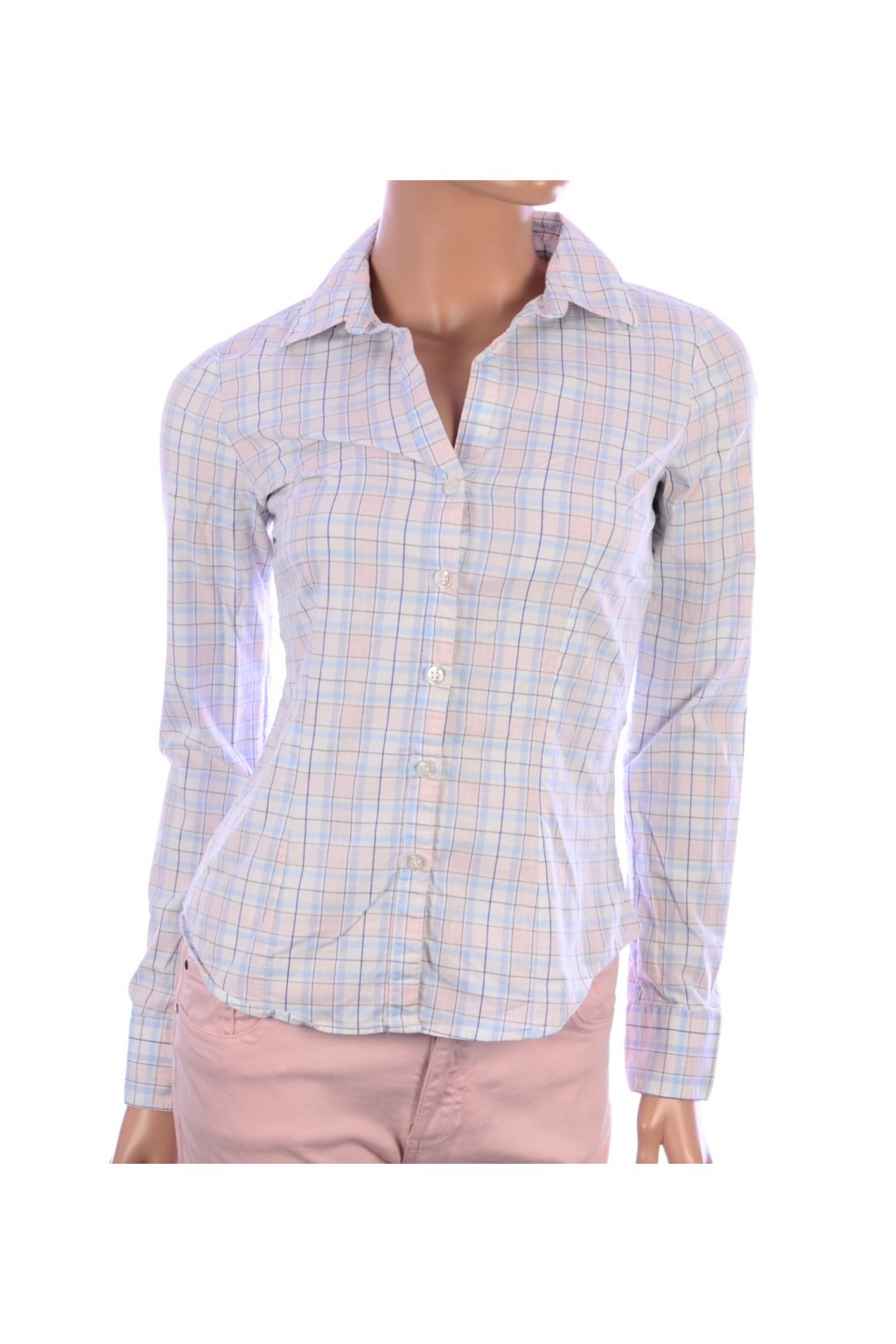 Košile karo H&M vel. 34 / XS