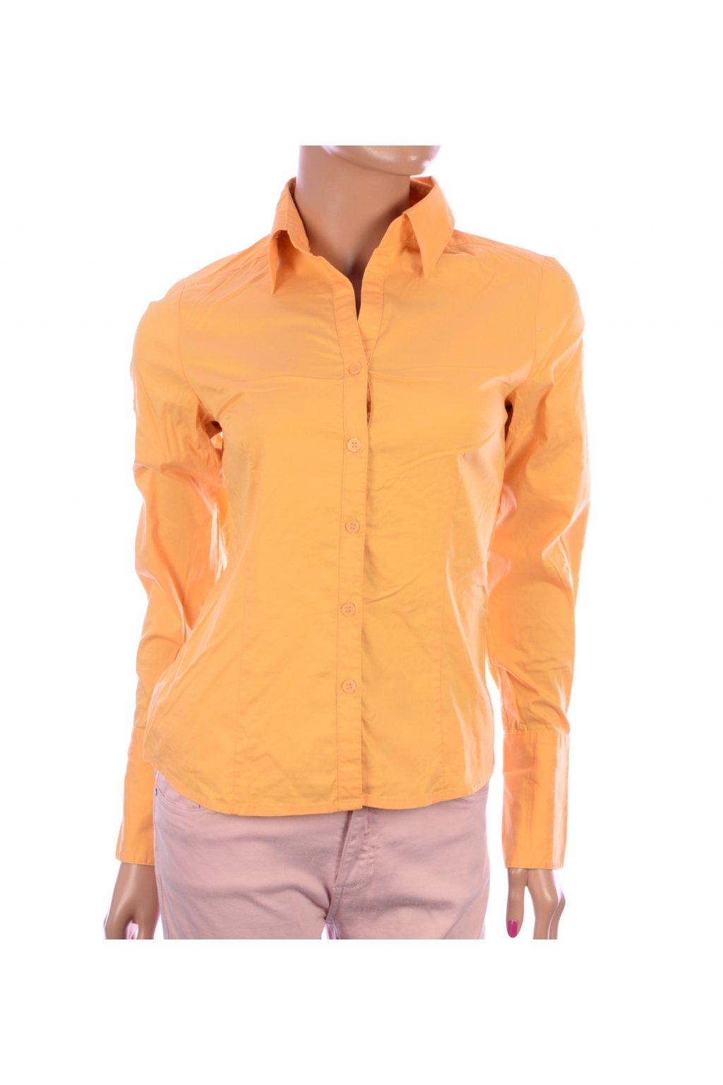 Košile H&M oranžová vel. 34 / XS