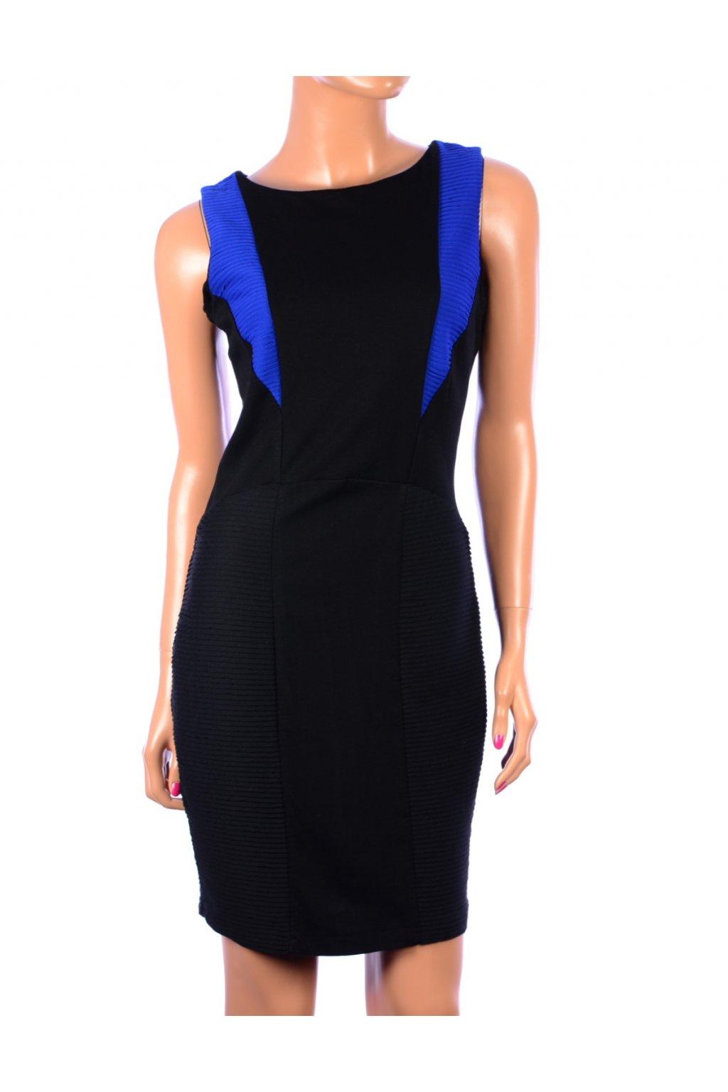 Šaty mini modro černé Limited Collection vel. M / uk 12 / 40