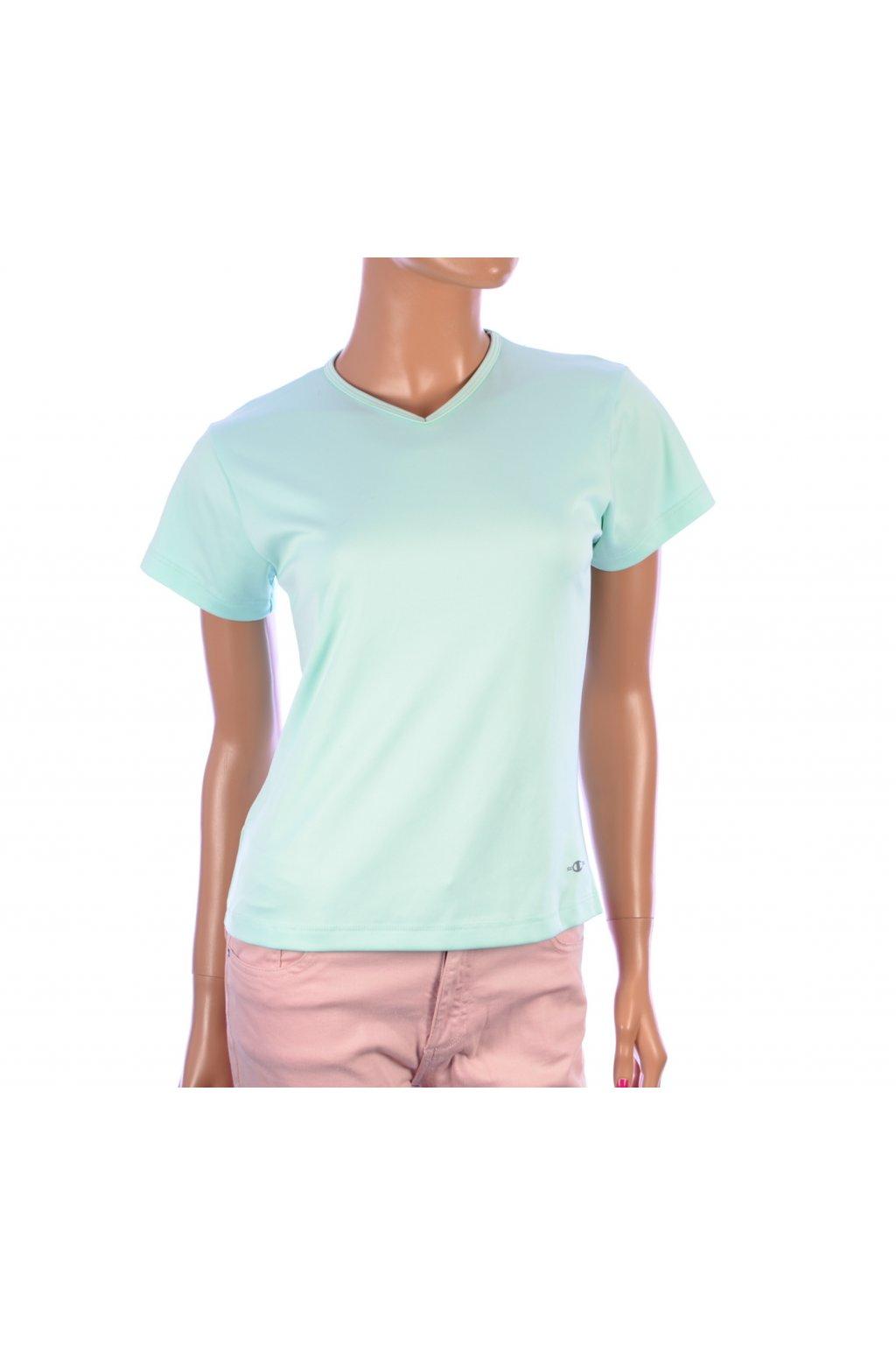 Tričko sportovní pastelově zelené vel. M