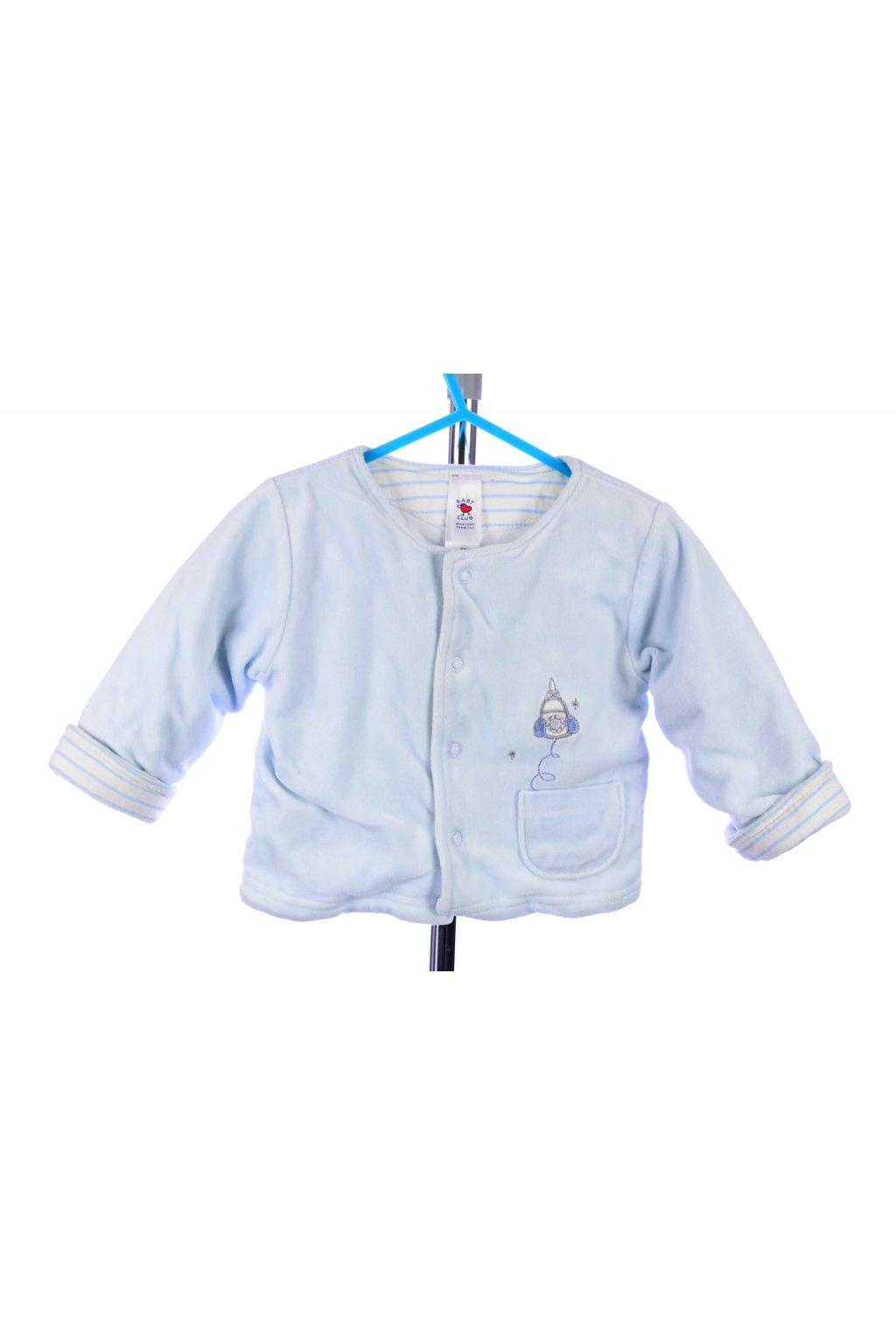 Mikina kabátek sametový C&A vel. 74