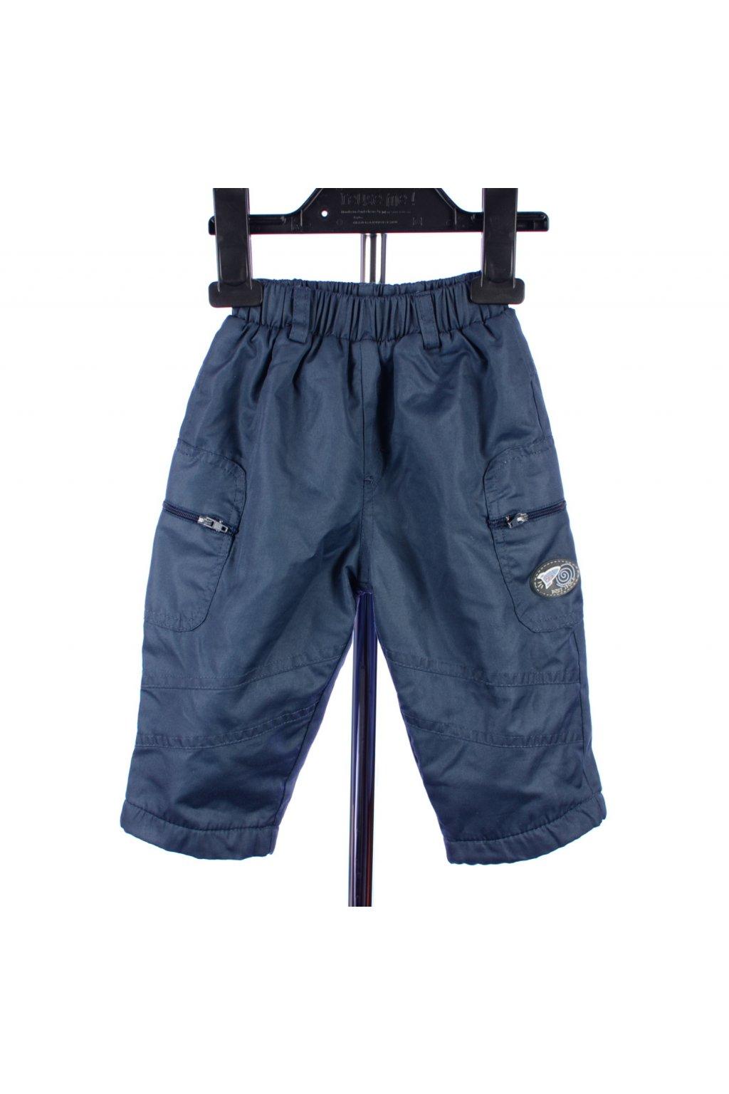 Kalhoty šusťákové s flísovou podšívkou Space world vel. 68 - 74