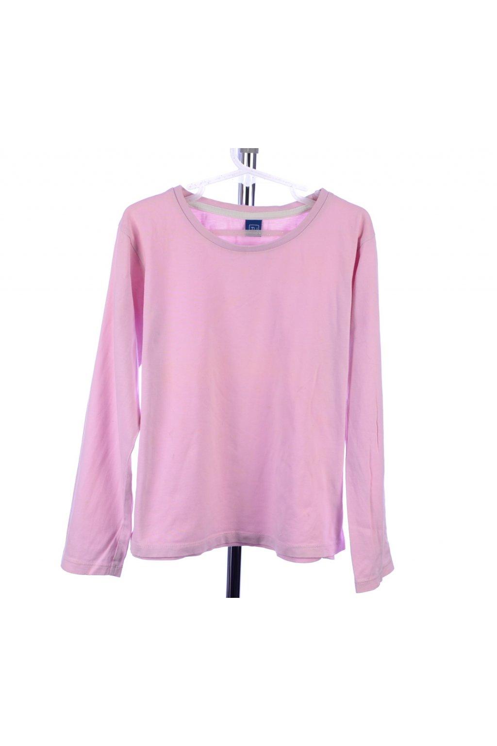 Tričko Tu 8-9/134 růžové dlouhý rukáv