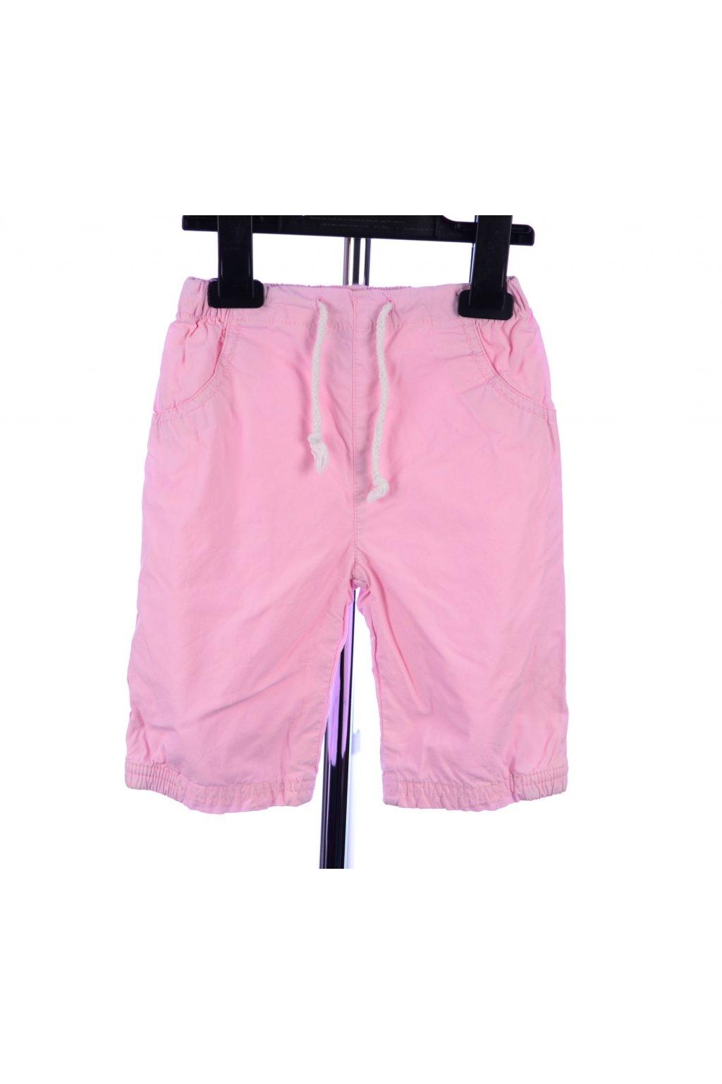 Kalhoty velikost 68 růžové