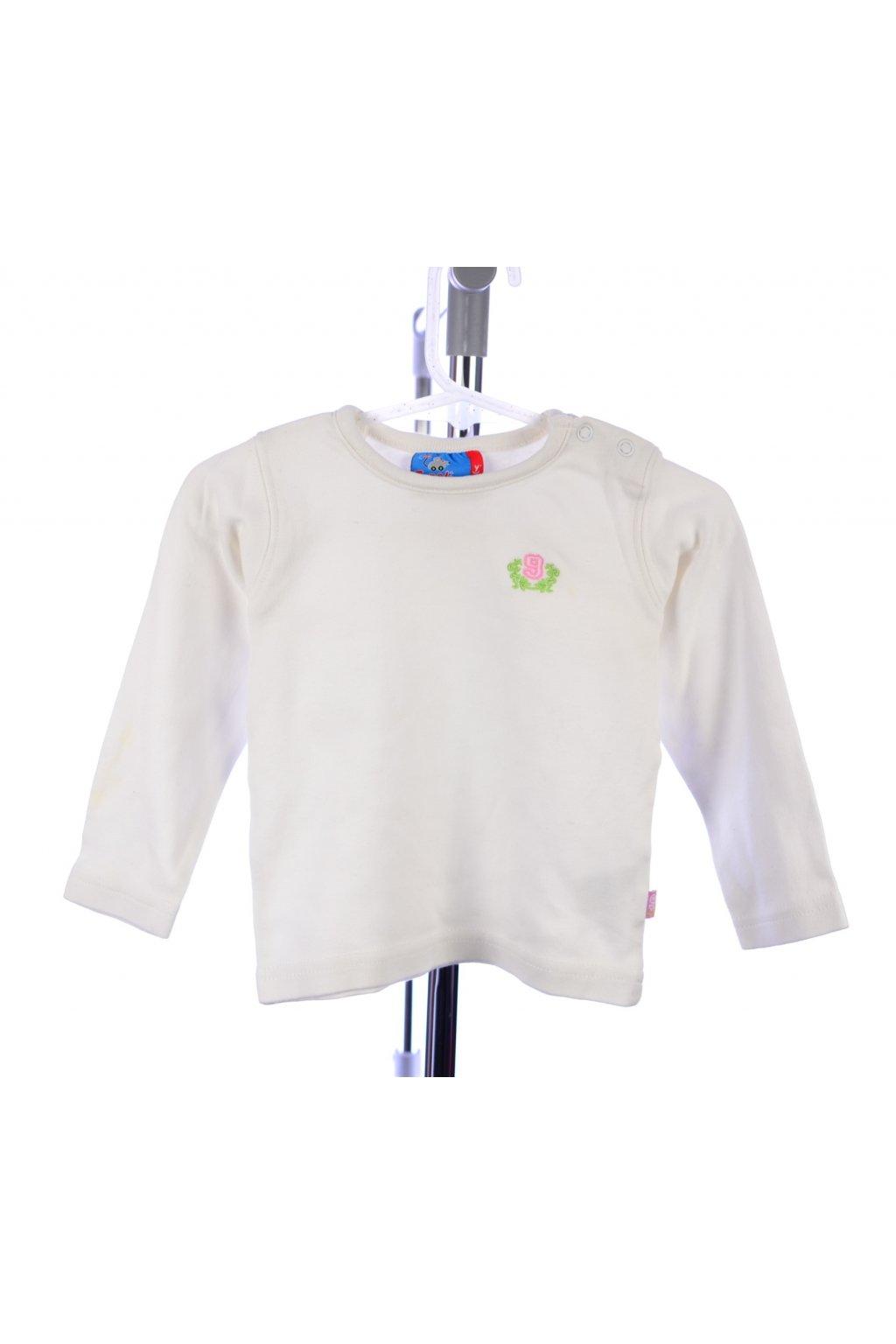 Tričko Topolino dlouhý rukáv vel 74 krémové
