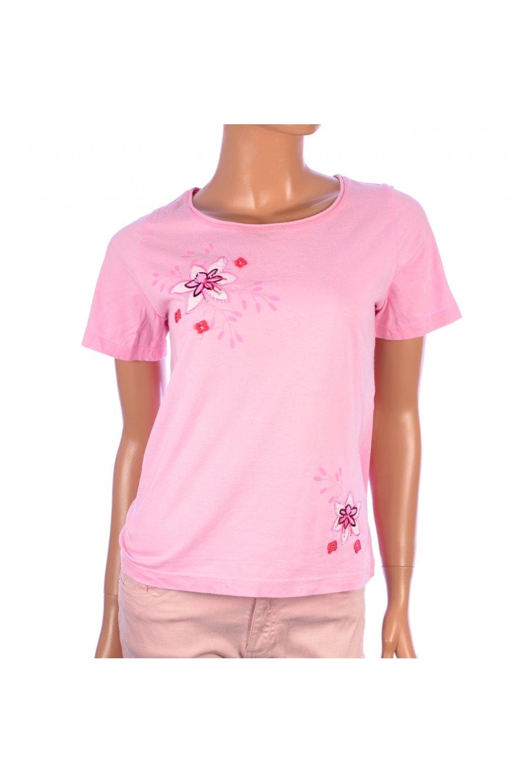 Tričko růžové Lady vel. M / 40