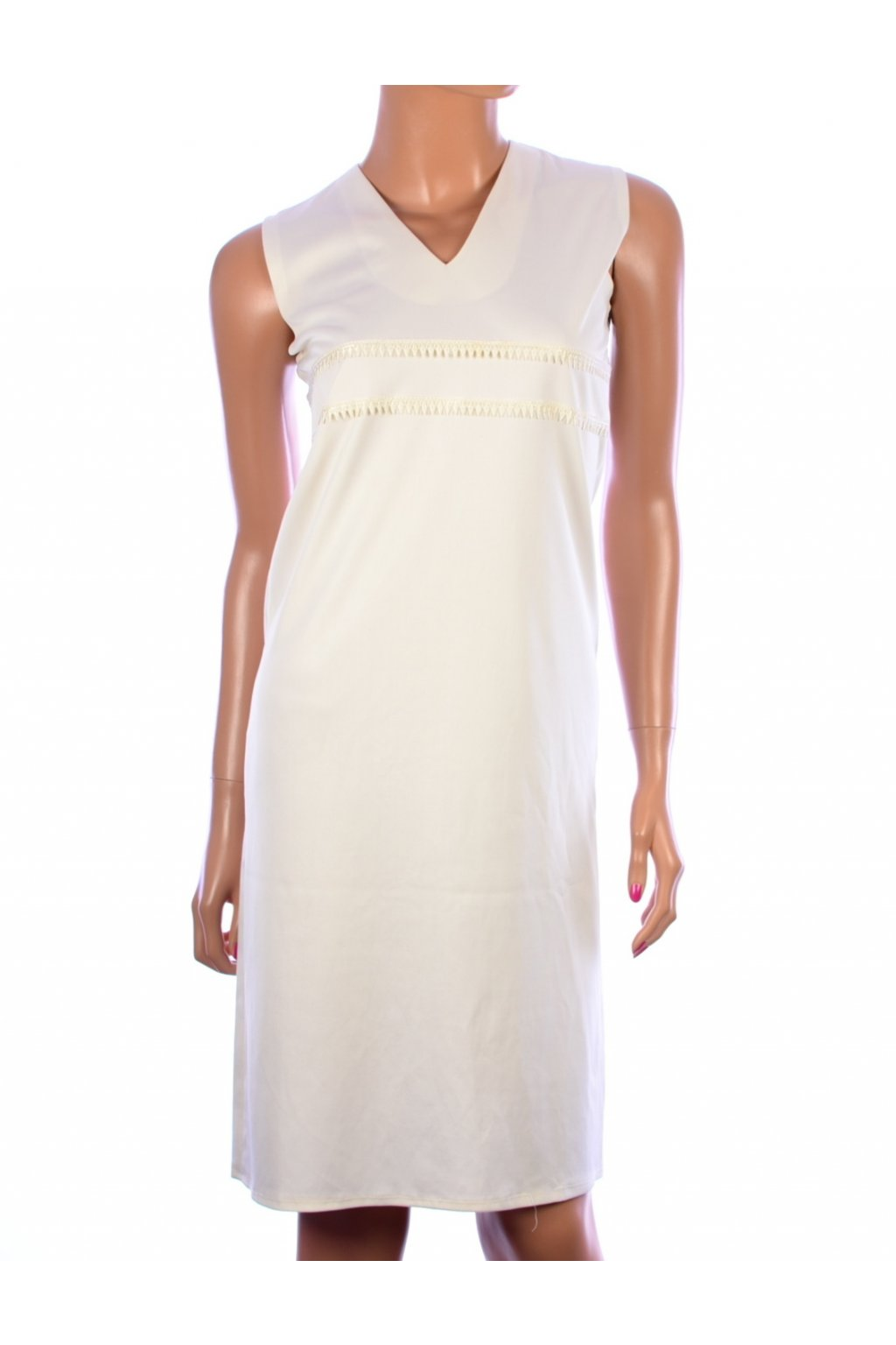 Šaty bílé elegantní vel. S - M