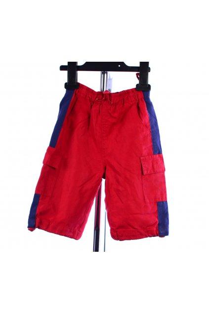 Kalhoty šusťákové s podšívkou vel. 74