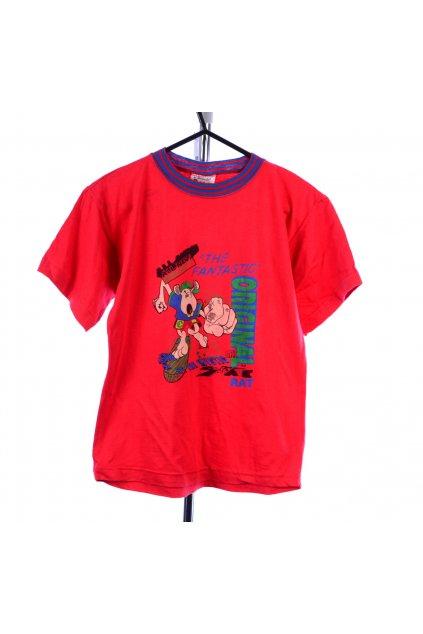 Tričko  červené La Second vel. 128