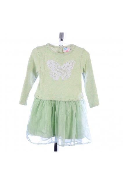 Šaty Topomini vel 92 zelenkavé