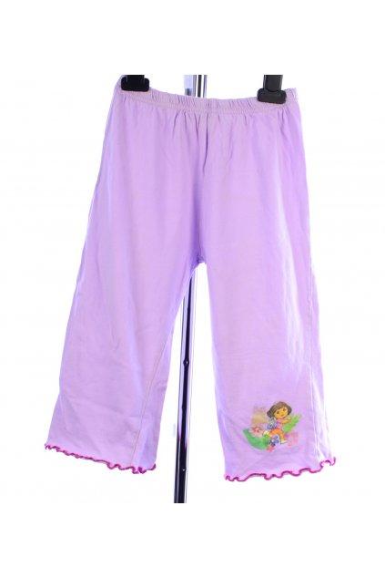 Pyžamo pouze kalhoty fialové s Dorou vel 92