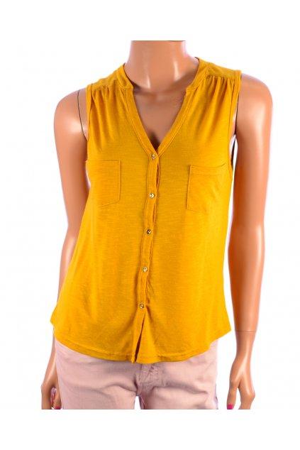 Tričko top žluté Primark vel. 34 / XS