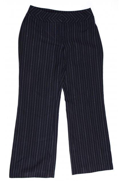 Kalhoty formální Florence+Fred vel M/UK12 černé prihované