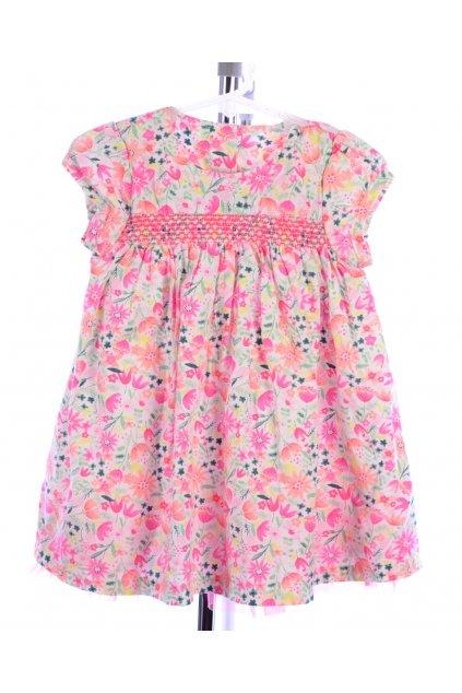 Šaty květované Nutmeg vel. 80