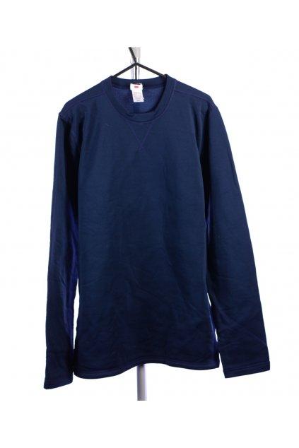 Tričko mikina sportovní Quechua tmavě modrá vel. L