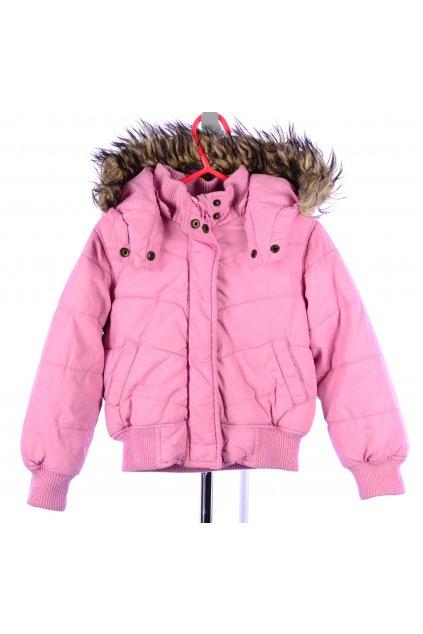 Bunda podzim zima H&M vel 2-3/98 růžová