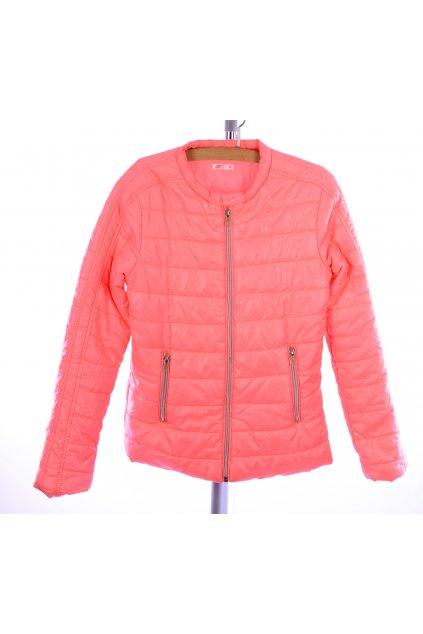 Bunda podzim zima Pepco vel 158 světle oranžová