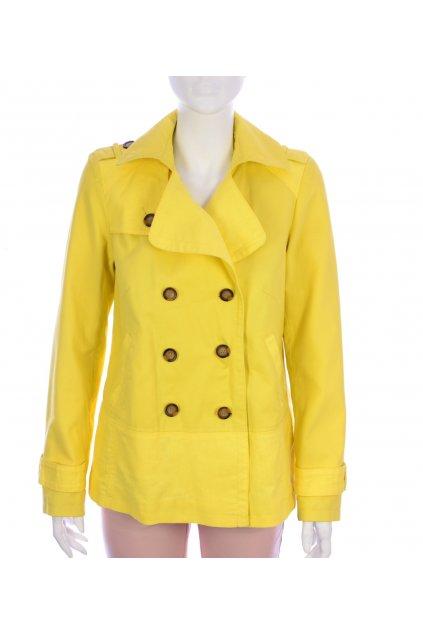 Kabátek žlutý lehký Next vel. 40 / uk 12 / M