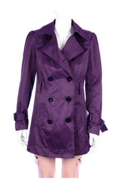 Kabát přechodní fialová New Look vel. 40 / uk 12 / M