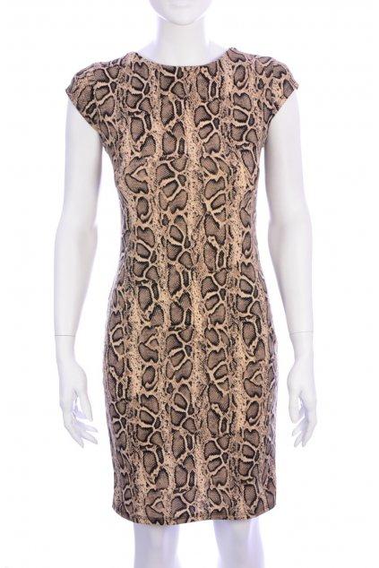Šaty New Collection vel XS-S zvířecí vzor
