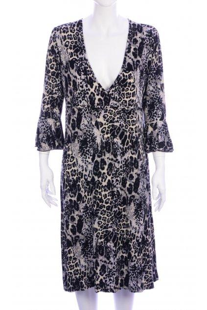 Šaty Laura di Sarpi vel 46/L zvířecí vzor