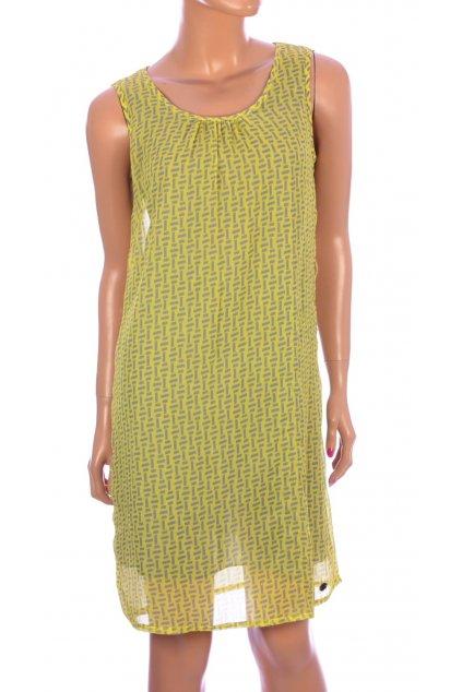 Šaty Street One žluté vzorované vel. 38 / uk 12 / S